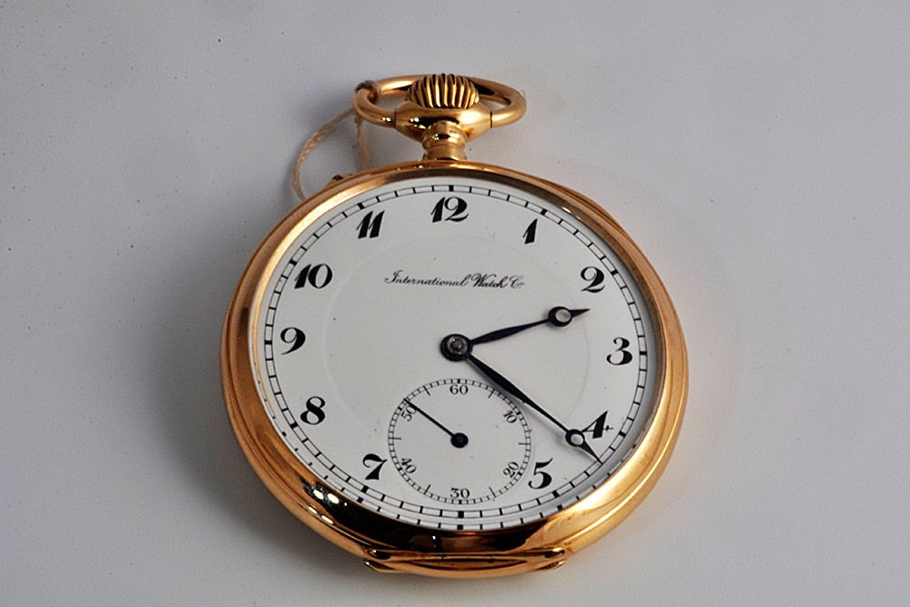 b750d5050eb Relógio de bolso em ouro - Espadim Lda